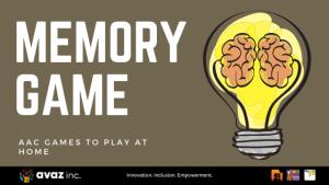 Memory AAC Game