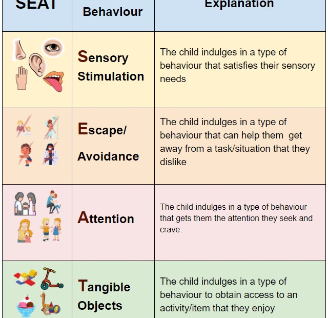 SEAT: Behaviour Functions