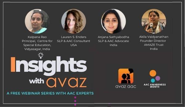 Avaz AAC Webinar series 2021